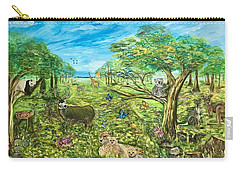 Le Royaume Animal De Yang Carry-all Pouch by Belinda Low