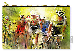 Le Tour De France 07 Carry-all Pouch by Miki De Goodaboom