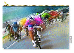 Le Tour De France 09 Carry-all Pouch by Miki De Goodaboom