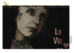 Le Vie En Rose  Carry-all Pouch by Paul Lovering