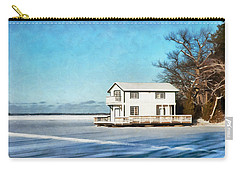 Leacock Boathouse In Winter Carry-all Pouch