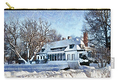 Leacock Museum In Winter Carry-all Pouch