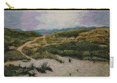 Carry-all Pouch featuring the painting Lead Me To Tranquility by Ron Richard Baviello