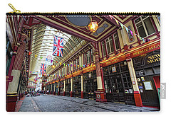 Carry-all Pouch featuring the photograph Leadenhall Market by Shirley Mitchell