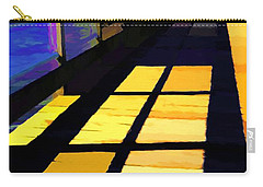 Carry-all Pouch featuring the photograph Leading Lines # 1 by Mel Steinhauer