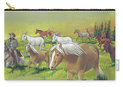 Leading The Bell Mare Carry-all Pouch