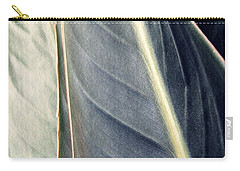 Leaf Abstract 14 Carry-all Pouch by Sarah Loft