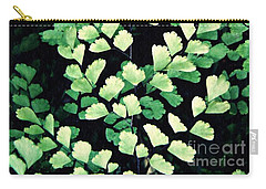 Leaf Abstract 15 Carry-all Pouch by Sarah Loft