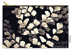 Leaf Abstract 15 Sepia Carry-all Pouch by Sarah Loft