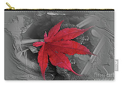 Leaf Abstract  Carry-all Pouch by Yumi Johnson