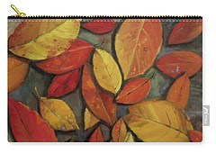 Leaf Collection Carry-all Pouch by Mary Hubley