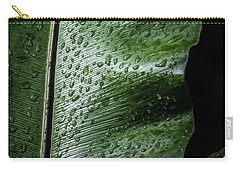 Leaf Droplets II Carry-all Pouch