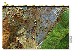 Leaf Forest Carry-all Pouch by Todd Breitling
