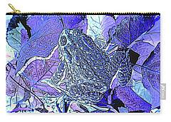 Leaf Hopper Carry-all Pouch by Aliceann Carlton