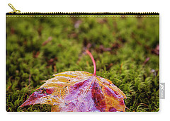 Leaf On Moss Carry-all Pouch