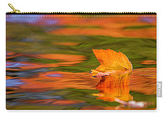 Leaf On Water Carry-all Pouch