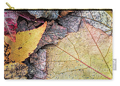 Leaf Pile Up Carry-all Pouch by Todd Breitling
