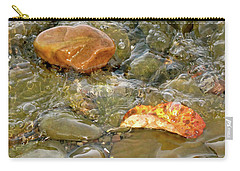 Leaf, Rock Leaf Carry-all Pouch