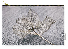 Leaf Skeleton Carry-all Pouch by Karen Stahlros