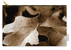 Leaf Study In Sepia IIi Carry-all Pouch