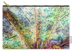 Leaf Terrain Carry-all Pouch by Todd Breitling