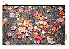 Leafy Autumn Walk Carry-all Pouch
