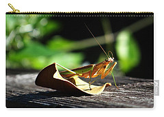 Leafy Praying Mantis Carry-all Pouch