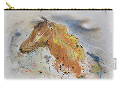 Leafy Horse Carry-all Pouch