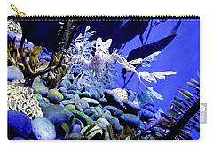 Carry-all Pouch featuring the photograph Leafy Sea Dragon by Kelly Mills