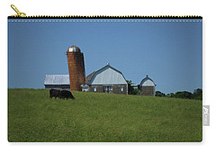 Carry-all Pouch featuring the photograph Lean Beef by Robert Geary