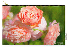 Leander English Rose Carry-all Pouch
