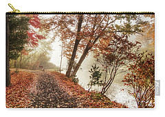 Leaning Tree Carry-all Pouch by Betsy Zimmerli
