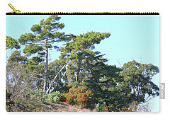 Leaning Trees On Hillside Carry-all Pouch