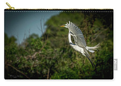 Carry-all Pouch featuring the photograph Leap Of Faith by Marvin Spates