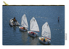 Learning To Sail Carry-all Pouch