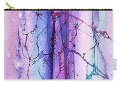Learning To Weather The Storm Carry-all Pouch by Rebecca Davis