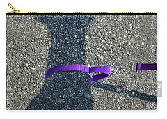 Leash Required On Sunny Days Carry-all Pouch
