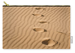 Leave Only Footprints Carry-all Pouch