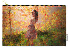 Carry-all Pouch featuring the photograph Leave The Past by Rose-Maries Pictures
