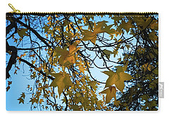 Carry-all Pouch featuring the photograph Leaves by Cendrine Marrouat