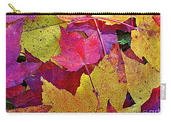 Leaves Falling Softly Carry-all Pouch