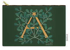 Leaves Letter A Carry-all Pouch
