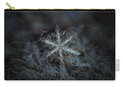 Leaves Of Ice, Panoramic Version Carry-all Pouch