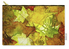 Leaves Carry-all Pouch by Terry Honstead
