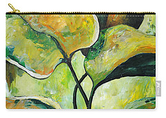 Leaves2 Carry-all Pouch