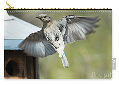 Leaving Home Carry-all Pouch by Mike Dawson