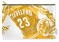 Lebron James Cleveland Cavaliers Pixel Art 20 Carry-all Pouch