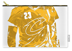 Lebron James Cleveland Cavaliers Pixel Art 21 Carry-all Pouch