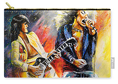 Led Zeppelin Passion Carry-all Pouch by Miki De Goodaboom