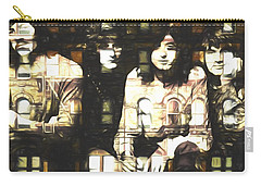 Led Zeppelin Physical Graffiti Carry-all Pouch by Dan Sproul